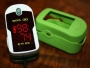 Pulse Oximeter Concord Emerald w/ carrying case & lanyard